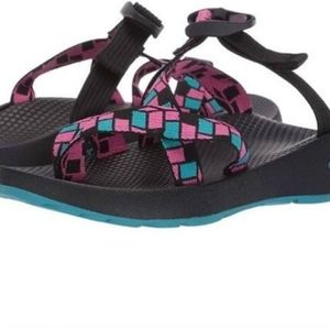 Women's size 6 multi-color Chaco Tegu Sandals